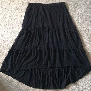 Old Navy Black Tiered Skirt